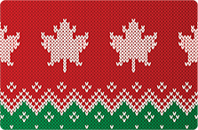 Holiday Sweater Card Template