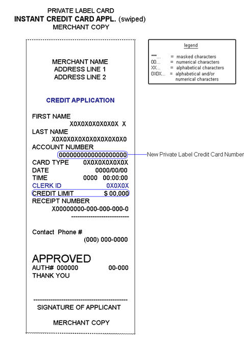 Receipt_pl_credit_app M  Examples Of Receipts For Payment
