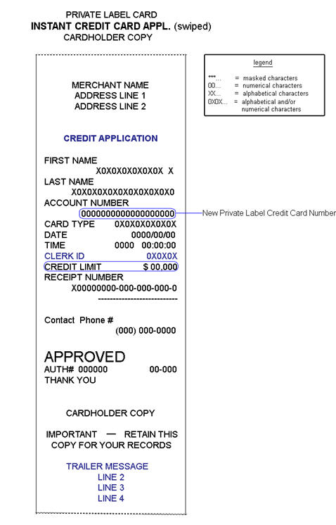 credit application template excel